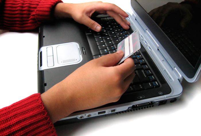 Покупки в интернете по кредитной карте