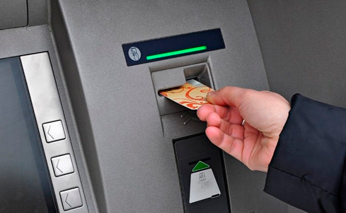 Возврат карты из банкомата
