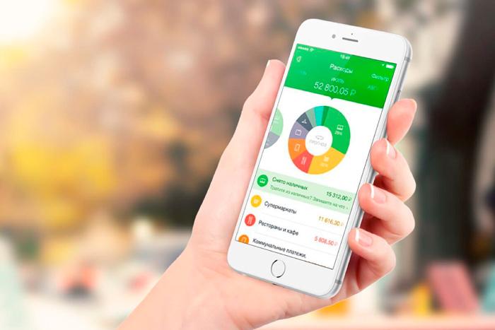 Мобильное приложение Сбербанка