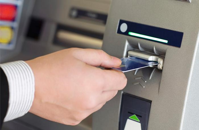 Блокировка карты в банкомате