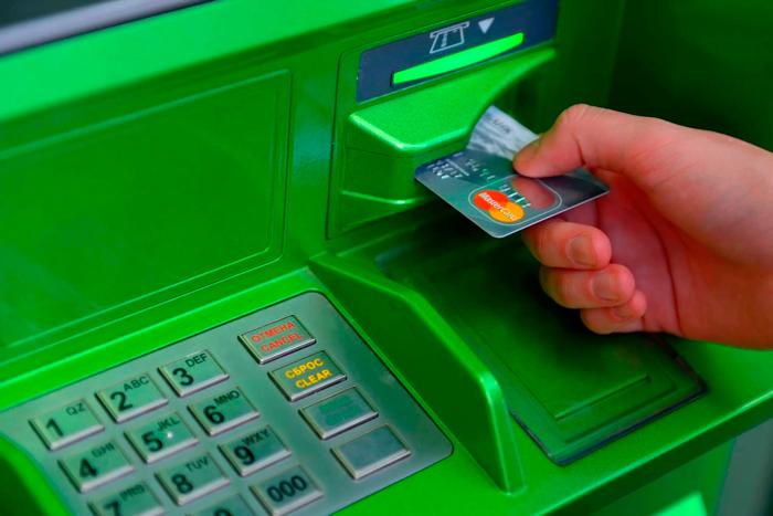 Как работать с банкоматом Сбербанка