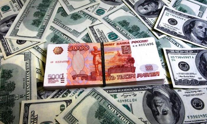 Конвертация рубля в доллары