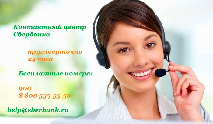 Цель контактного центра Сбербанка