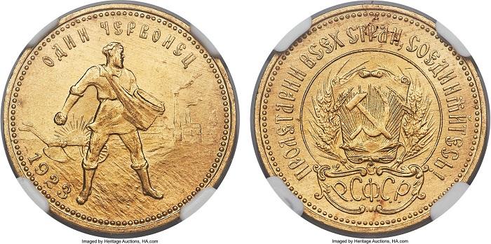 Образец монеты