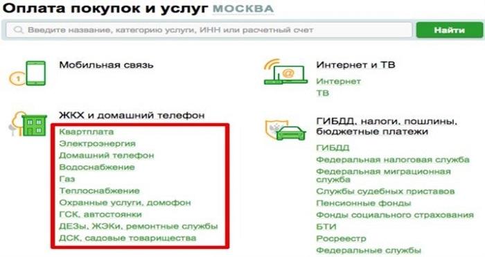 Комиссия в Сбербанк онлайн