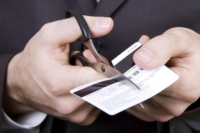 Уничтожение кредитки