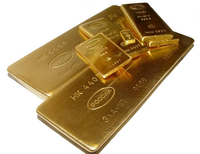 Сколько стоит слиток золота в Сбербанке
