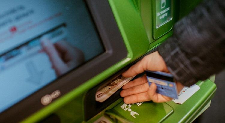Пополнение карты в банкомате