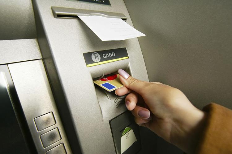 Чек о транзакции в банкомате