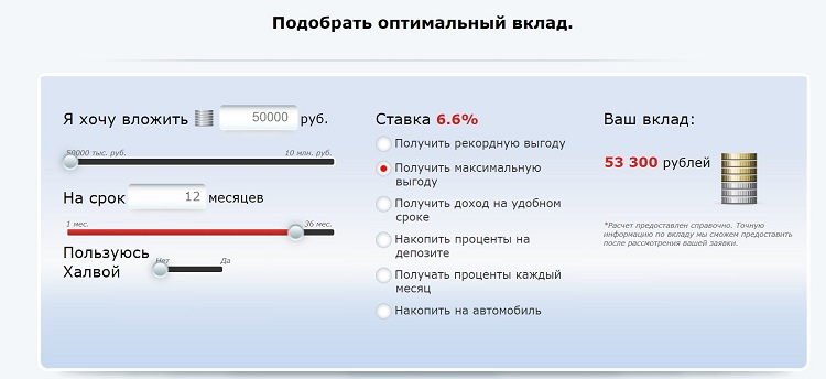 Вклады для пенсионеров под 12 процентов в Совкомбанке